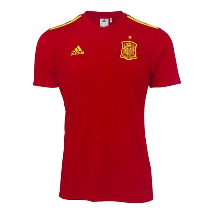 Jerseys / Soccer: Adidas National Team 2016 Spain (H) Fans Shirt Aa0849 - Adidas / S / Red / 2016 Adidas Clothing Home Kit Jerseys |