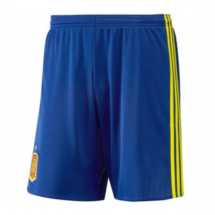 Shorts / Soccer: Adidas National Team 2016 Spain (H) Shorts [Kids] Aa0845 - Adidas / Kids: 140 / Blue / 2016 Adidas Blue Clothing Home Kit |