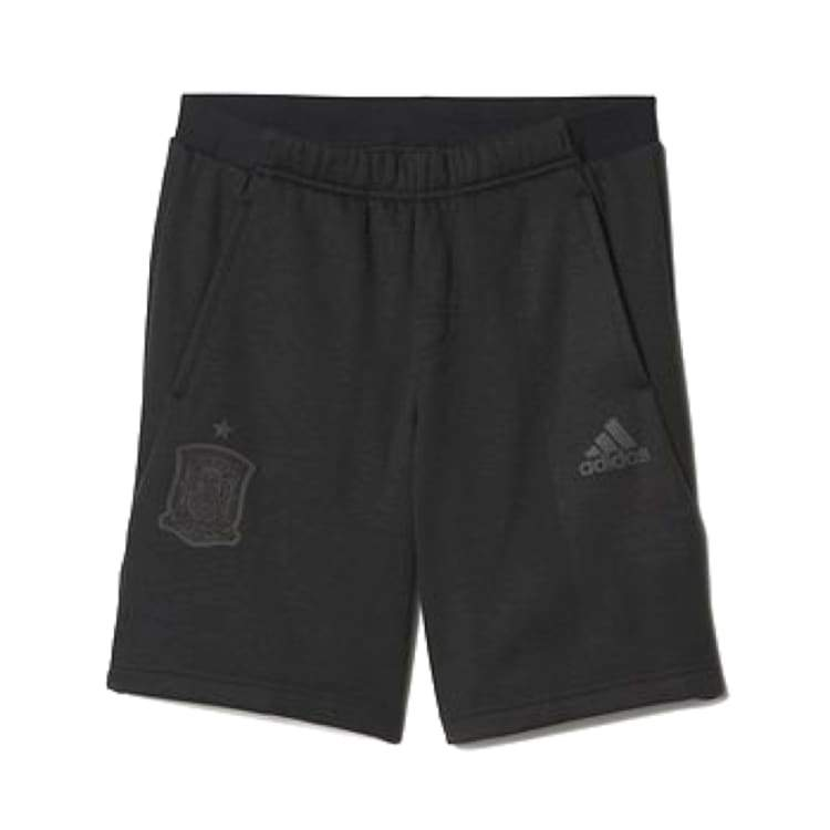 Shorts / Casual: Adidas National Team 2016 Spain Sweater Shorts Bk Ai4307 - Adidas / S / Black / 2016 Adidas Black Clothing Land |