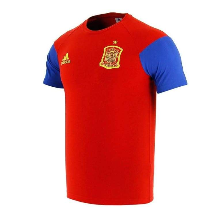 Tees / Short Sleeve: Adidas National Team 2016 Spain Tee Red Ai4870 - Adidas / M / Red / 2016 Adidas Clothing Fans Wear Land |