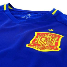 Jerseys / Soccer: Adidas National Team 2016 Spain Training Jersey Blue Ai4851 - 2016 Adidas Blue Clothing Jerseys