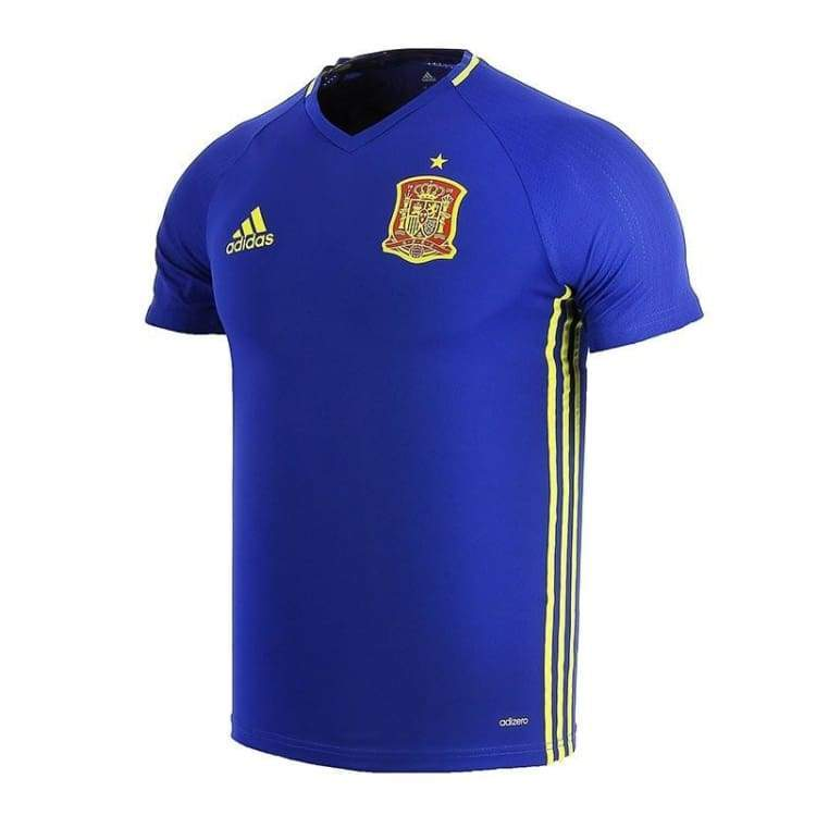 Jerseys / Soccer: Adidas National Team 2016 Spain Training Jersey Blue Ai4851 - Adidas / S / Blue / 2016 Adidas Blue Clothing Jerseys |