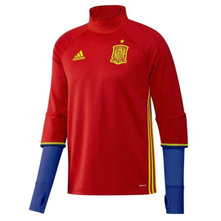 Tops / Warm Up: Adidas National Team 2016 Spain Training Top Ai4859 - Adidas / S / Red / 2016 Adidas Clothing Land Mens |