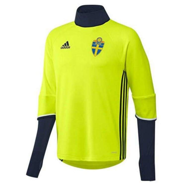 Tops / Warm Up: Adidas National Team 2016 Sweden Training Top Ac3910 - Adidas / S / Yellow / 2016 Adidas Clothing Land Mens |