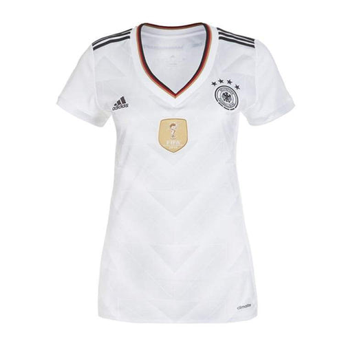 Jerseys / Soccer: Adidas National Team 2017 Germany (Home) Jersey Womens B47868 - Adidas / Xs / White / 2017 Adidas Clothing Germany Germany