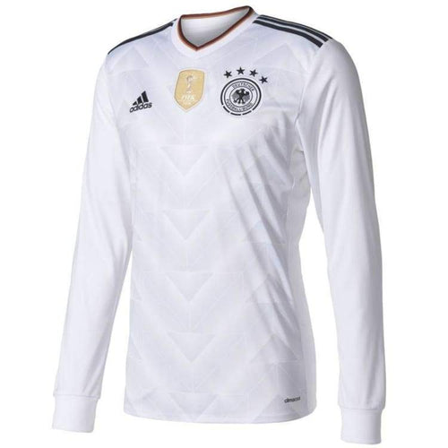 Jerseys / Soccer: Adidas National Team 2017 Germany (Home) L/s B47862 - Adidas / Xs / White / 2017 Adidas Clothing Germany Germany (World
