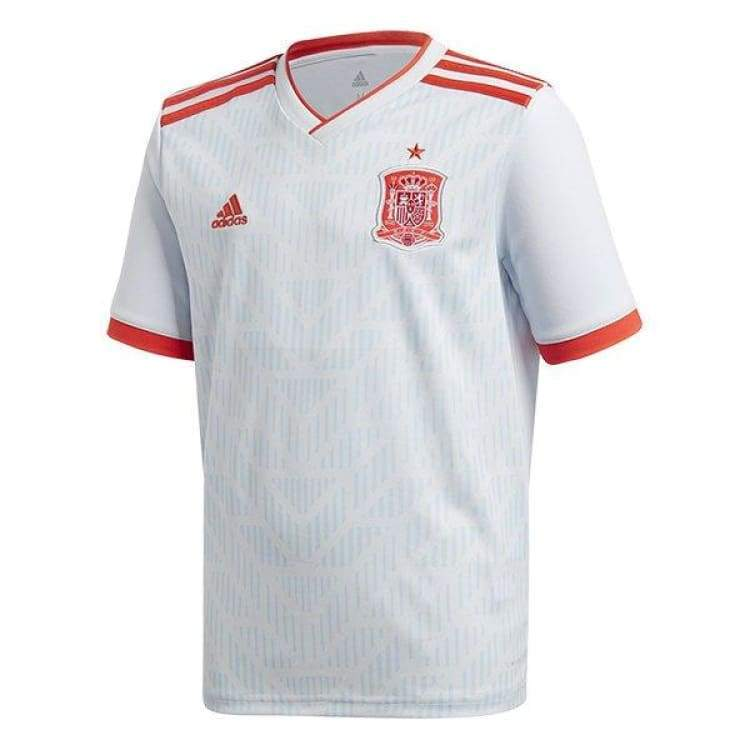 Jerseys / Soccer: Adidas National Team 2018 Spain (A) Jersey Br2697 - Adidas / Xs / White / 2018 2018 Fifa World Cup 2018 World Cup Adidas