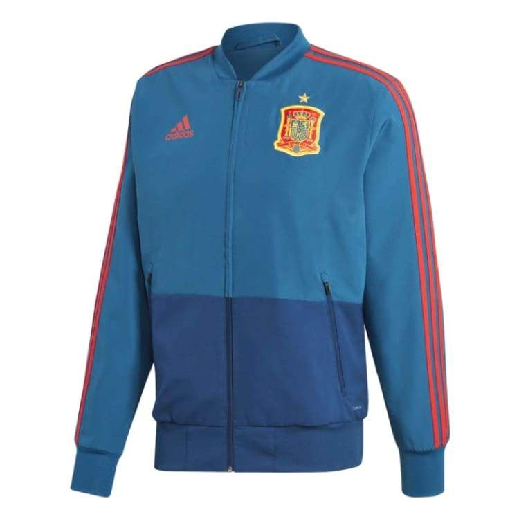 Jackets / Track: Adidas National Team 2018 Spain Presentation Jacket Ce8838 - Adidas / Xs / Blue / 2018 2018 Fifa World Cup 2018 World Cup