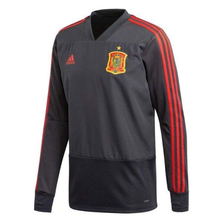 Tops / Warm Up: Adidas National Team 2018 Spain Training Top Ce8821 - Adidas / S / Grey / 2018 Adidas Clothing Grey Land |