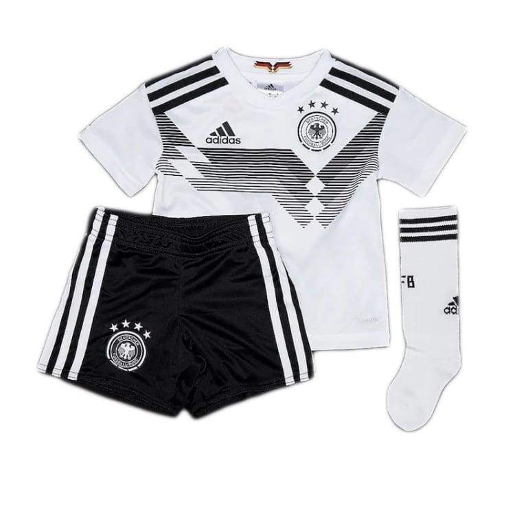 Jerseys   Soccer  Adidas National Team 2018 World Cup Germany (H) Mini Kit b171b8d29