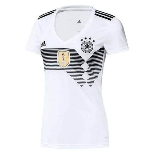 Jerseys / Soccer: Adidas National Team 2018 World Cup Germany (H) Womens Jersey Bq8396 - Adidas / S / White / 2018 2018 Fifa World Cup 2018