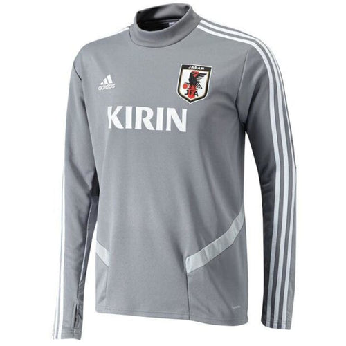 Jerseys / Soccer: Adidas National Team 2019 Japan L/s Jersey [Mens] Ck9748 - Adidas / Jaspo: S / Gray / 2019 Adidas Clothing Gray Home Kit |