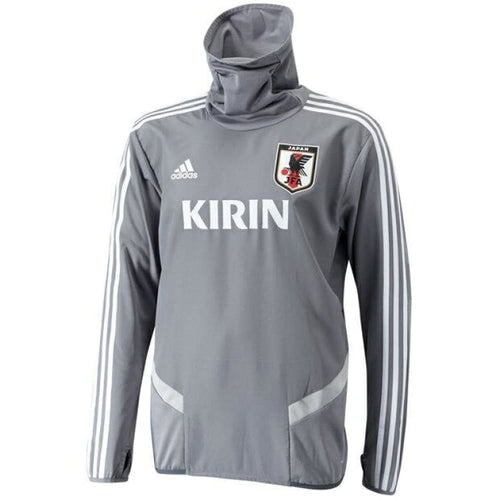 Jerseys / Soccer: Adidas National Team 2019 Japan L/s Training Jersey [Mens] Ck9746 - Adidas / Jaspo: S / Gray / 2019 Adidas Clothing Gray