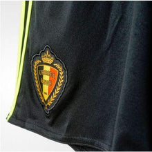 Shorts / Soccer: Adidas National Team Euro 2016 Belgium (H) Shorts Aa8741 - 2016 Adidas Belgium Belgium (World Cup) Black