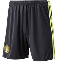 Shorts / Soccer: Adidas National Team Euro 2016 Belgium (H) Shorts Aa8741 - Adidas / Xs / Black / 2016 Adidas Belgium Belgium (World Cup)