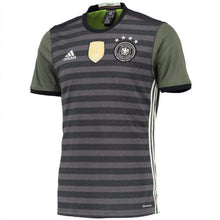 Jerseys / Soccer: Adidas National Team Euro 2016 Germany (A) S/s Jersey [Reversible] Aa0110 - Adidas / S / Military / 2016 Adidas Away Kit