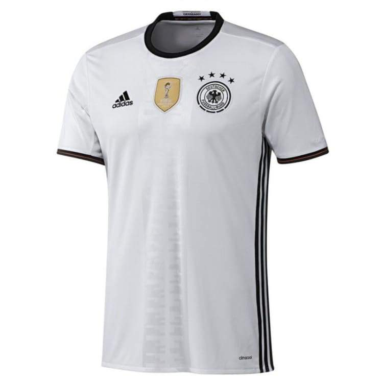 Jerseys / Soccer: Adidas National Team Euro 2016 Germany (H) S/s Ai5014 - Xs / Gray / Adidas / 2016 Adidas Clothing Germany Germany (World