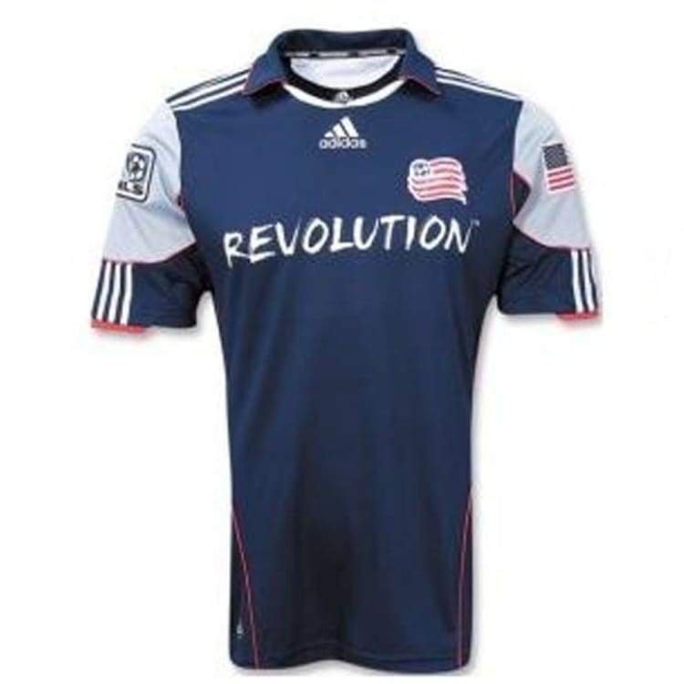 Jerseys / Soccer: Adidas New England Revolution 11/12 (H) S/s - Adidas / S / Navy / 1112 Adidas Clothing Home Kit Jerseys |