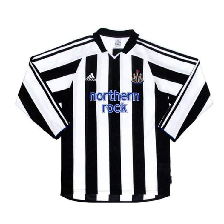 Jerseys / Soccer: Adidas Newcastle United 03/04 (H) L/s - Adidas / L / White / Black / 0304 Adidas Clothing Home Kit Jerseys |