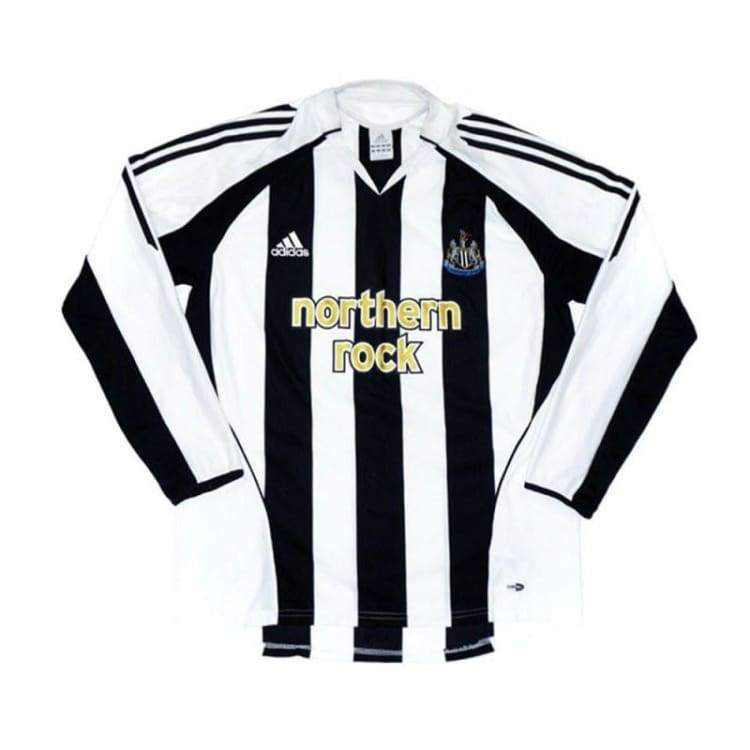 Jerseys / Soccer: Adidas Newcastle United 05/06 (H) L/s - Adidas / L / White / Black / 0506 Adidas Clothing Home Kit Jerseys |
