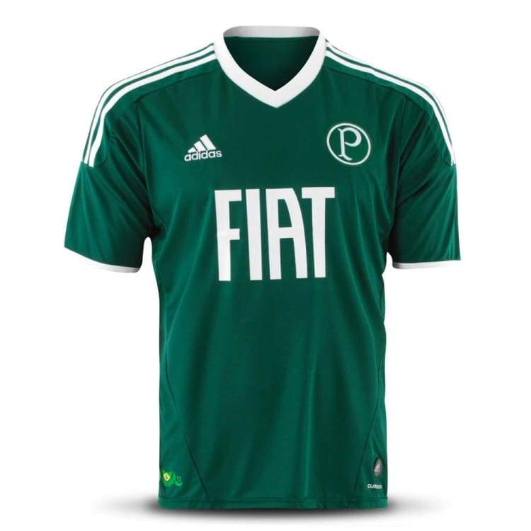Jerseys / Soccer: Adidas Palmeiras 11/12 Home S/s Jersey Ssbra07110H - Adidas / S / Green / 1112 Adidas Clothing Green Home Kit |