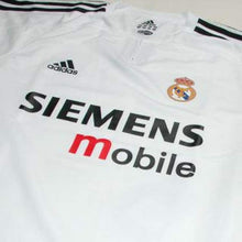 Jerseys / Soccer: Adidas Real Madrid 03/04 (H) Player S/s 913870 - 0304 Adidas Clothing Home Kit Jerseys