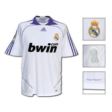 Jerseys / Soccer: Adidas Real Madrid 07/08 (H) S/s - 0708 Adidas Clothing Home Kit Jerseys