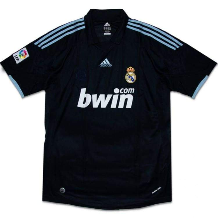 Jerseys / Soccer: Adidas Real Madrid 09/10 (A) S/s - L / Blue / Adidas / 0910 Adidas Away Kit Blue Clothing | Ochk-Sfalo-Ssspa01090A-Blu-L