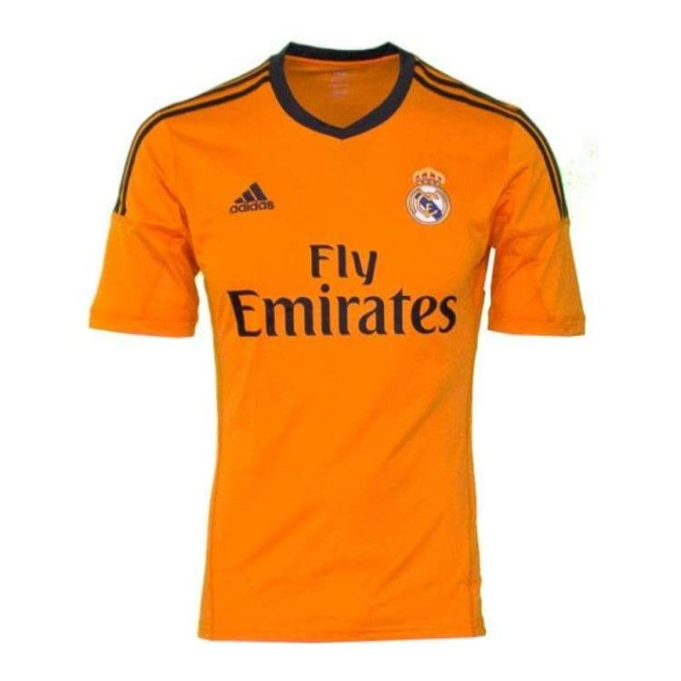 Jerseys / Soccer: Adidas Real Madrid 13/14 (3Rd) S/s Z29454 - Adidas / S / Orange / 1314 Adidas Clothing Jerseys Jerseys / Soccer |