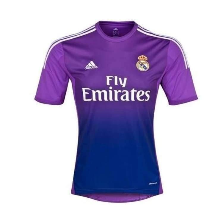 Jerseys / Soccer: Adidas Real Madrid 13/14 (H) Gk Jersey G81065 - Adidas / M / Purple / 1314 Adidas Clothing Goalkeeper Home Kit |