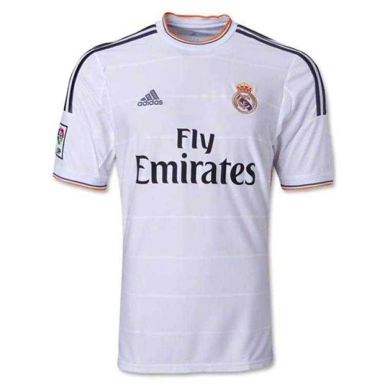 Jerseys / Soccer: Adidas Real Madrid 13/14 (H) S/s Z29356 - Adidas / 2Xl / White / 1314 Adidas Clothing Home Kit Jerseys |