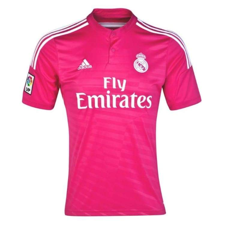 Jerseys / Soccer: Adidas Real Madrid 14/15 (A) S/s M37315 - Adidas / S / Pink / 1415 Adidas Away Kit Clothing Jerseys |