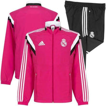Tracksuit: Adidas Real Madrid 14/15 Presentation Suit F84077 - 1415 Adidas Clothing Jackets Land