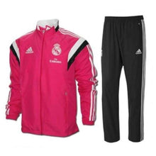 Tracksuit: Adidas Real Madrid 14/15 Presentation Suit F84077 - Adidas / S / Pink / 1415 Adidas Clothing Jackets Land |
