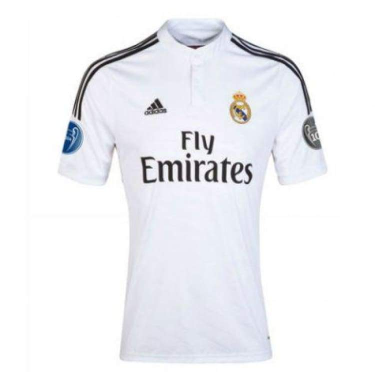 Jerseys / Soccer: Adidas Real Madrid 14/15 Ucl (H) S/s M38202 - Adidas / S / White / 1415 Adidas Clothing Home Kit Jerseys |