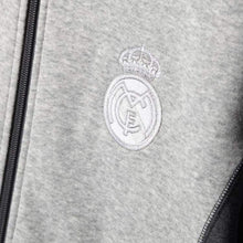 Hoodies & Sweaters: Adidas Real Madrid 15/16 Full Zip Hoodie Aa6880 - 1516 Adidas Clothing Grey Hoodies & Sweaters