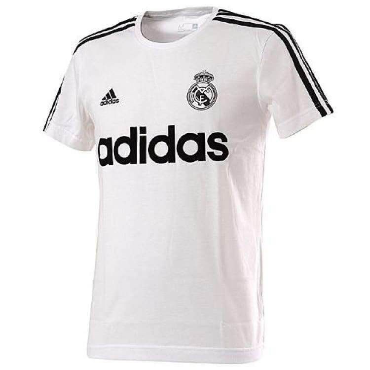 Tees / Short Sleeve: Adidas Real Madrid 15/16 S/s T-Shirt Aa2216 - Adidas / S / White / 1516 Adidas Clothing Fans Wear Land |