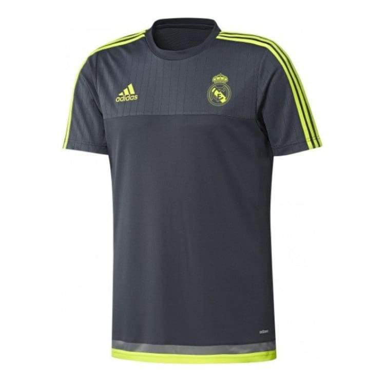 Jerseys / Soccer: Adidas Real Madrid 15/16 Training S/s S88955 - Adidas / L / Charcoal / 1516 Adidas Charcoal Clothing Jerseys |