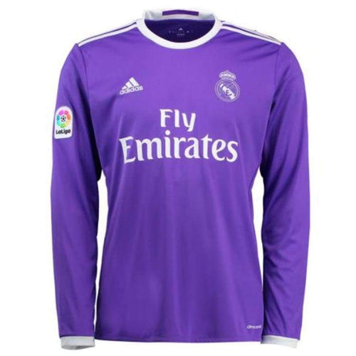Jerseys / Soccer: Adidas Real Madrid 16/17 (A) L/s Jersey Pur Ai5159 - Adidas / 2Xl / Purple / 1617 Adidas Away Kit Clothing Jerseys |