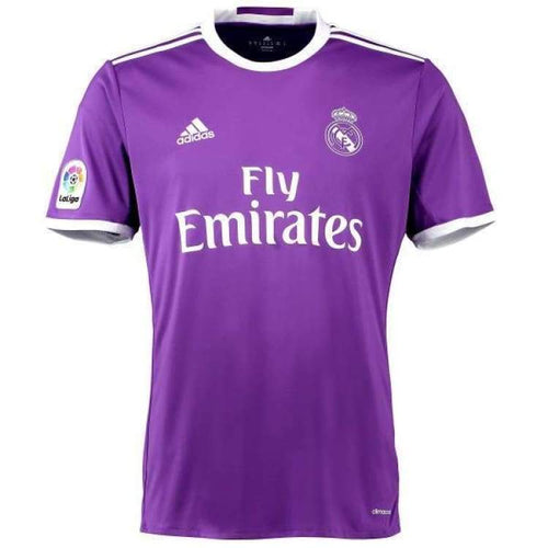 Jerseys / Soccer: Adidas Real Madrid 16/17 (A) S/s Jersey Pur Ai5158 - Adidas / Xs / Purple / 1617 Adidas Away Kit Clothing Jerseys |
