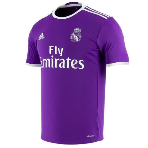 Jerseys / Soccer: Adidas Real Madrid 16/17 (A) S/s Youth Jersey Ai5163 - Adidas / Kids: 128 / Purple / 1617 Adidas Away Kit Clothing Jerseys