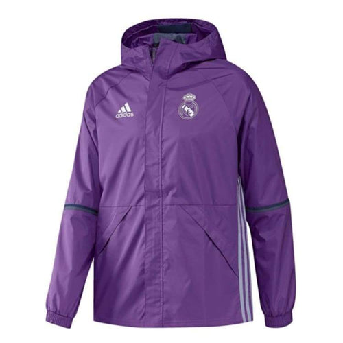 Jackets / Rain: Adidas Real Madrid 16/17 Allw Jacket Purple Ao3066 - Adidas / Xs / Purple / 1617 Adidas Clothing Jackets Jackets / Rain |