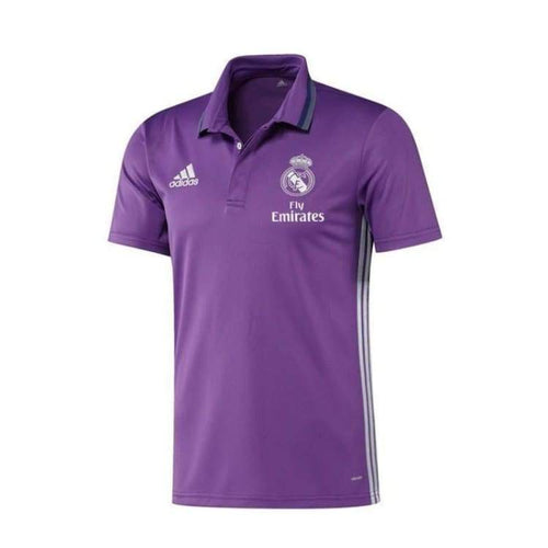 Polos / Short Sleeve: Adidas Real Madrid 16/17 Polo Pur Ao3068 - Adidas / S / Purple / 1617 Adidas Clothing Fans Wear Land |