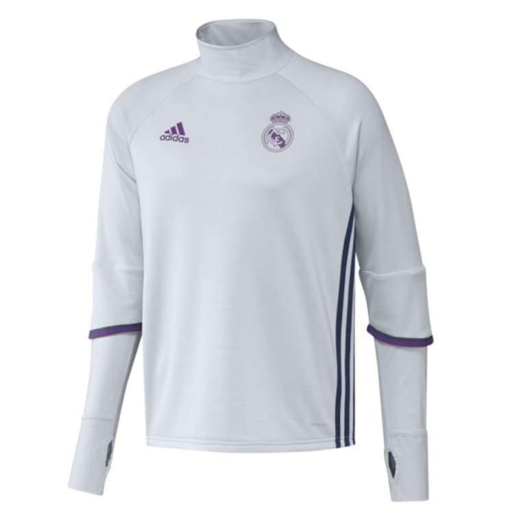Tops / Warm Up: Adidas Real Madrid 16/17 Training Top Ao3133 - Adidas / S / White / 1617 Adidas Clothing Land Mens |
