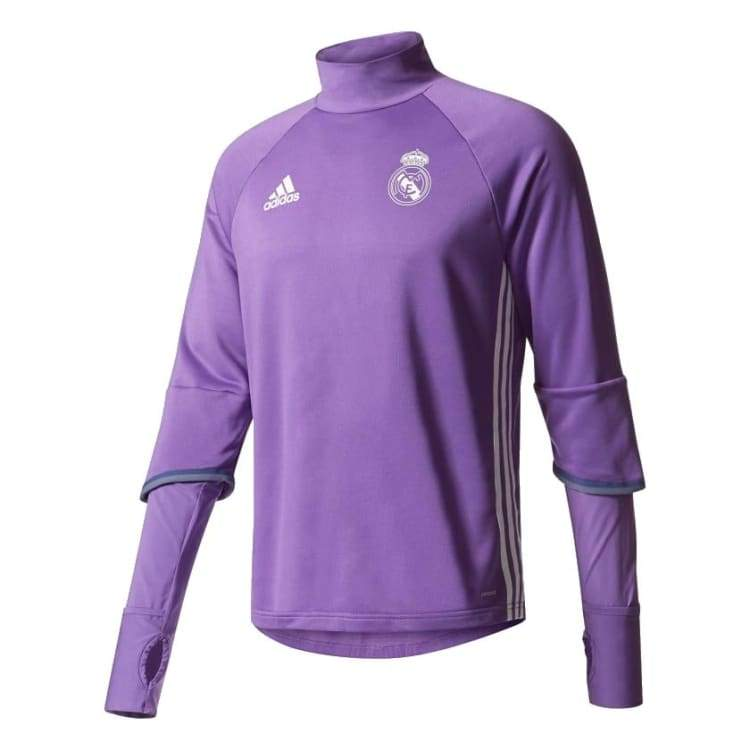 buy online ce772 e847c Adidas Real Madrid 16/17 Training Top Purple AO3131