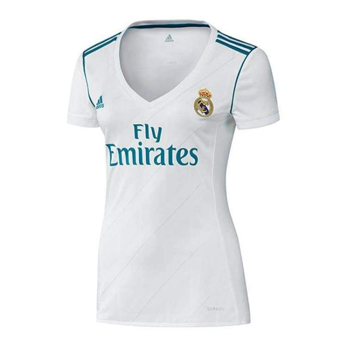 Jerseys / Soccer: Adidas Real Madrid 17/18 (H) S/s Women Jersey B31110 - Adidas / 2Xs / White / 1718 Adidas Clothing Football Home Kit |