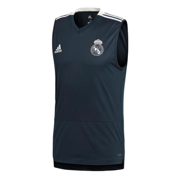 size 40 eb686 b6ec9 Adidas Real Madrid 18/19 REAL TR SLEEVELESS Tank CW8650