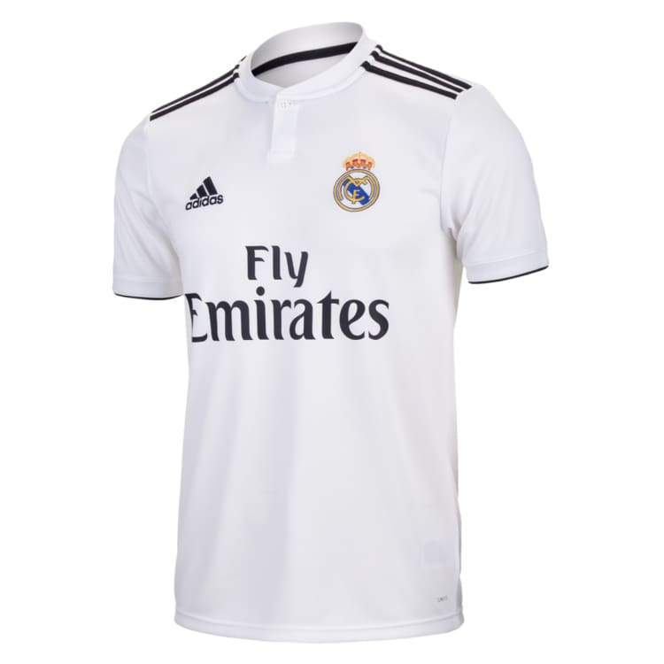 9c425c3a16924 Jerseys / Soccer: Adidas Real Madrid 18/19 Youth Home S/s Jersey