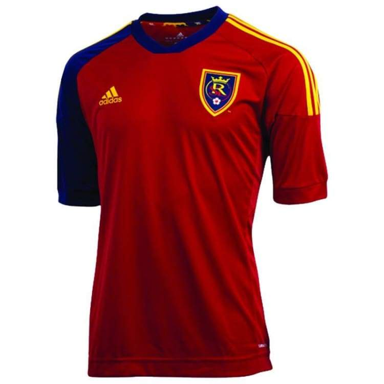 Jerseys / Soccer: Adidas Real Salt Lake City 13/14 (H) S/s Z55792 - Adidas / M / Red / 1314 Adidas Clothing Home Kit Jerseys |