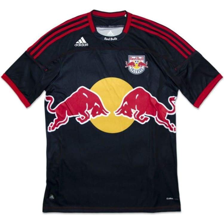 Jerseys / Soccer: Adidas Red Bull Salzburg 11/12 Away S/s Jersey V31325 - Adidas / Xl / Black/red / 1112 Adidas Away Kit Black/red Clothing